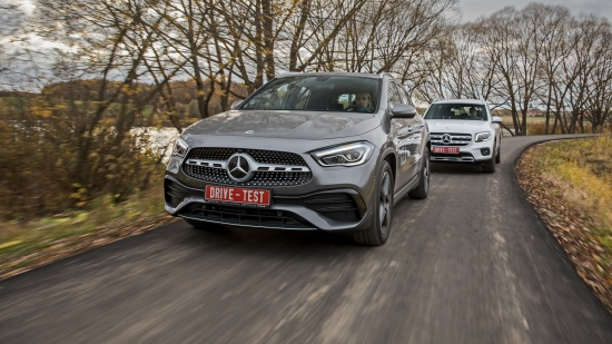 Тест-Драйв Mercedes-Benz GLA после рестайлинга